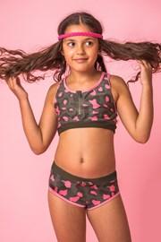 Dvodijelni kupaći kostim za djevojčice Lea