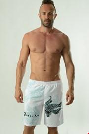 Muške kupaće hlače GERONIMO Cyprinus bijele