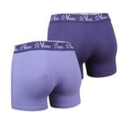 2 pack muških bokserica VIANIA Vman Blue Violet