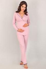 Pidžama za trudnice i dojilje Coraline Pink