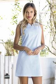 Ženska ljetna haljina Bernetta plava