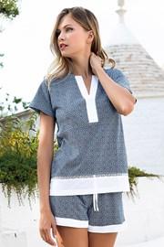 Ženska pidžama Creta kratka