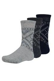 3 pack dječje čarape Maend