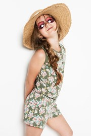 Kombinezon pidžama za djevojčice Flowers