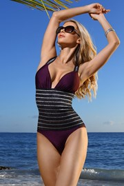 Jednodijelni stezni kupaći kostim Florence