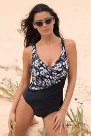Ženski jednodijelni kupaći kostim Flowery