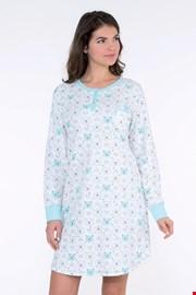 Ženska spavaćica Arctic plava
