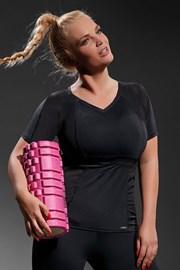 Ženski sportski triko Active Black