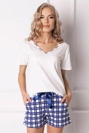 Ženska pidžama Blumy kratka