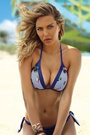 Ženski dvodijelni kupaći kostim Casablanca blue