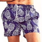 Muške kupaće hlače DAVID52 Pineapple Caicco