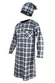 Muška pidžama s kapicom CORNETTE Dark Blue