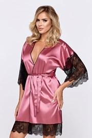 Ženski ogrtač Escora ružičast
