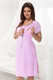 Trudnička spavaćica za dojenje Dorota, ružičasta