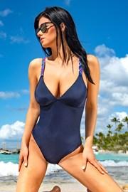 Ženski jednodijelni kupaći kostim Kamala Blue
