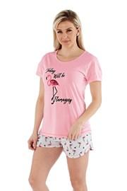 Ženska pidžama Flamazing kratka