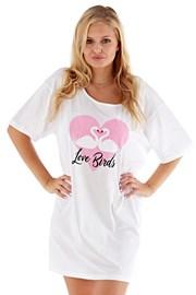 Ženska spavaćica Love Birds ružičasta