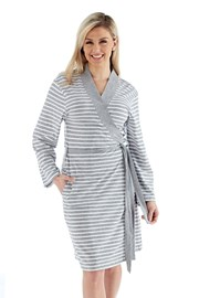 Ženski ogrtač Kimono sivi