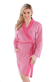 Ženski ogrtač Kimono ružičasti