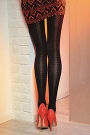 Čarape s gaćicama s uzorkom Loretta 121 50 DEN