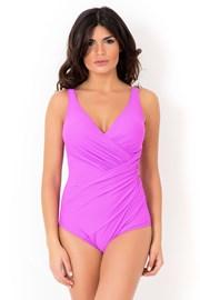 Oblikovajući talijanski jednodijelni kupaći kostim Miradonna MI8004AME