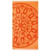 Ručnik za plažu Mandala narančasti