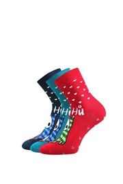 3 pack tople čarapa Sova