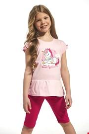 Pamučna pidžama za djevojčice Unique