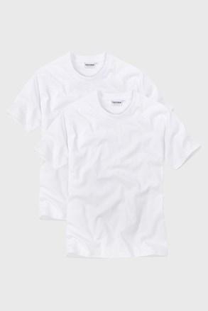 2pack muških majica s V izrezom White
