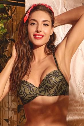 Gornji dio ženskog kupaćeg kostima Green nature