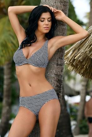 Ženski dvodijelni kupaći kostim Desirea nepodstavljen