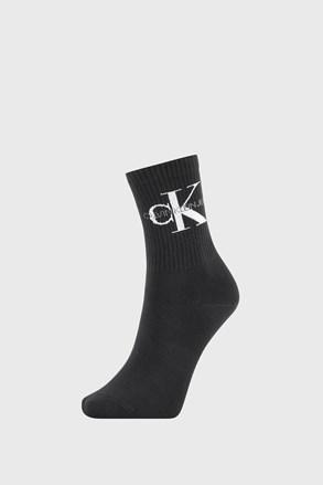Ženske čarape Calvin Klein Bowery crne
