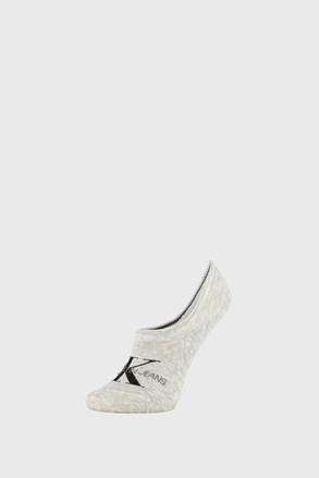 Ženske čarape Calvin Klein Brooklyn sive