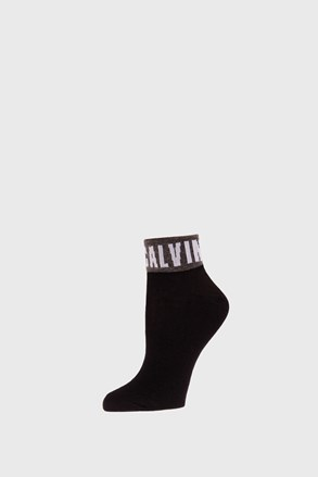 Ženske čarape Calvin Klein Kayla crne