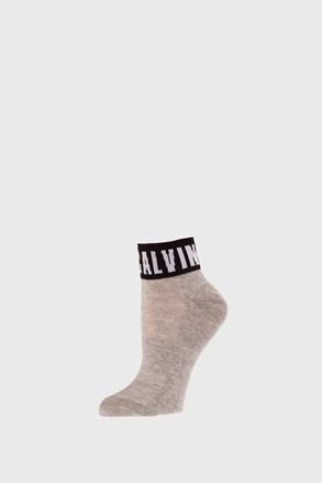 Ženske čarape Calvin Klein Kayla sive