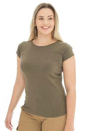 Ženska majica Bushman Natalie II boje masline