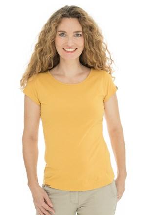 Ženska majica Bushman Natalie II žuta
