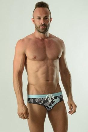 Muški slip kupaći kostim GERONIMO Cyprinus crni