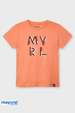 Dječja majica Mayoral Apricot
