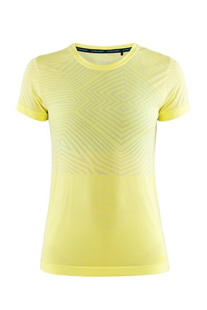 Ženska majica CRAFT Cool Comfort SS žuta