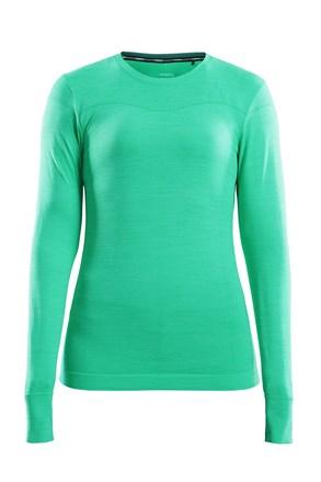 Ženska majica Craft Fuseknit Comfort svjetlozelena