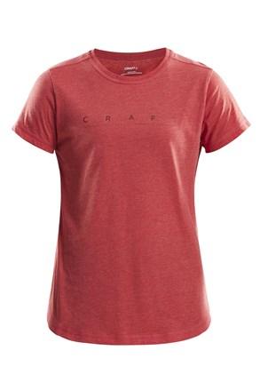 Ženska majica CRAFT Deft crvena