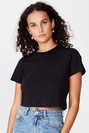 Ženska majica kratkih rukava basic Baby crna