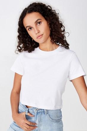 Ženska majica kratkih rukava basic Baby bijela