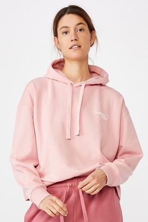 Ženska ružičasta dukserica