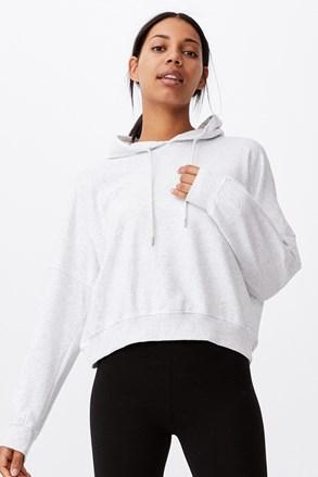Ženska majica s kapuljačom siva Favourite