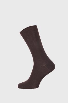 Čarape od bambusa Roger smeđe
