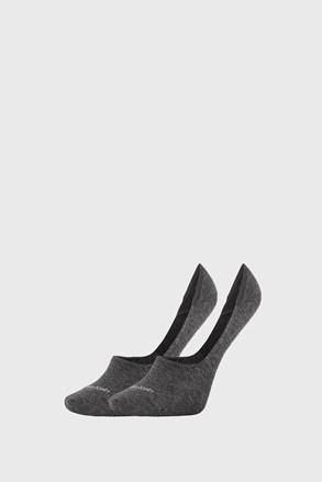 2 PACK ženskih čarapa Calvin Klein Jessica sive
