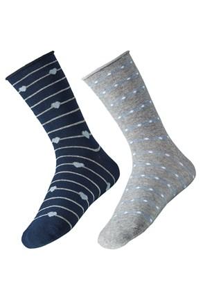 2 pack ženskih čarapa Ely