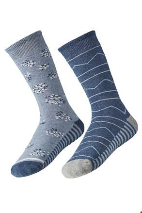 2 pack ženskih toplih čarapa Mia